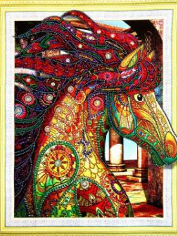 Special Mosaic horse