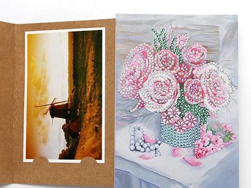 DP Photo album Pink flowers