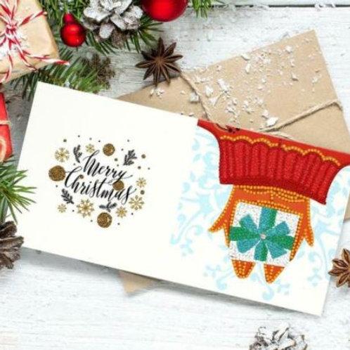 Crystal Card Kit:Christmas Hand gift