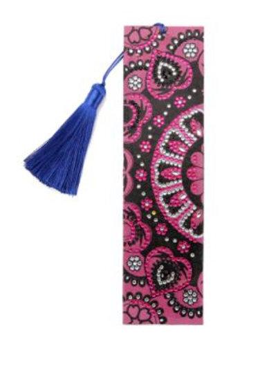 Bookmark Mosaic pink