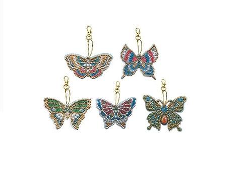 Butterflies set of 5