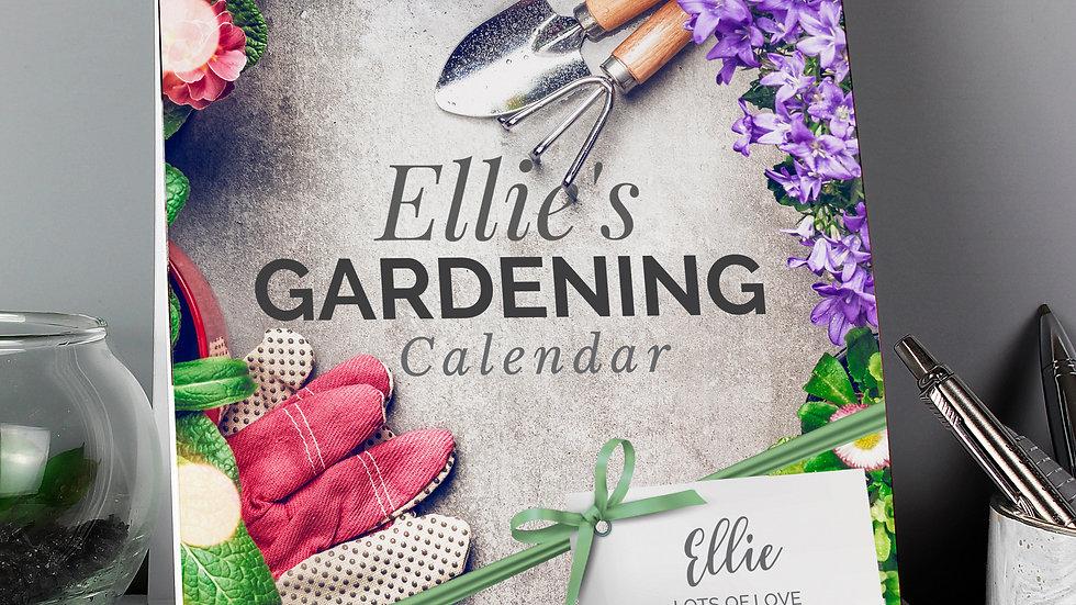 Personalised Gardening Desk Calendar