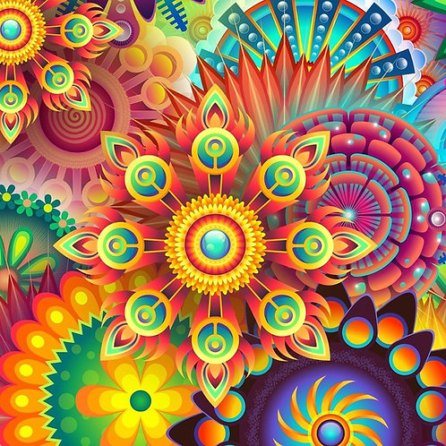 Mandalas Colourful