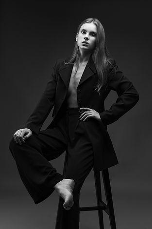 Edgaras Bajercius fotografas, Modelio testas, Studijinis modelio testas, modelio testas modeliams, modelio portfolio ruosimas, ECMA, Rasa. by Bajercius Photography