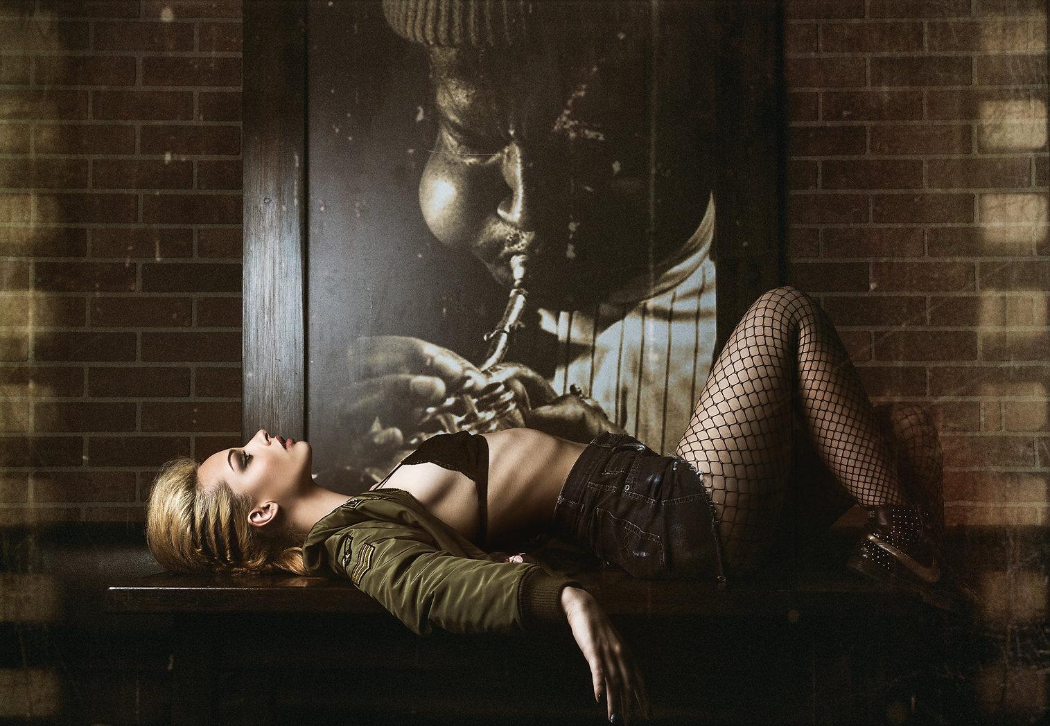 Bad Ass retro fashion photography projec