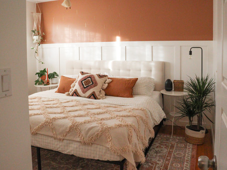 A Cozy, Boho Master Bedroom Refresh