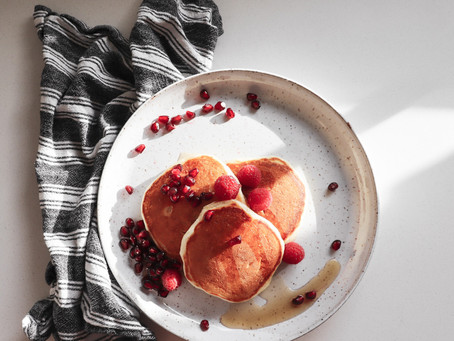 The Best, Fluffiest Pancakes {and nothing more}.