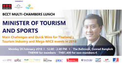 Minsiter of Tourism and Sport