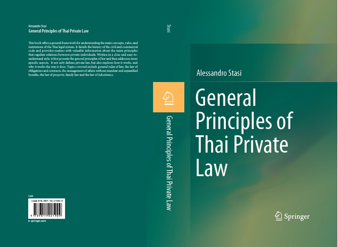 Principles of Thai Private Law