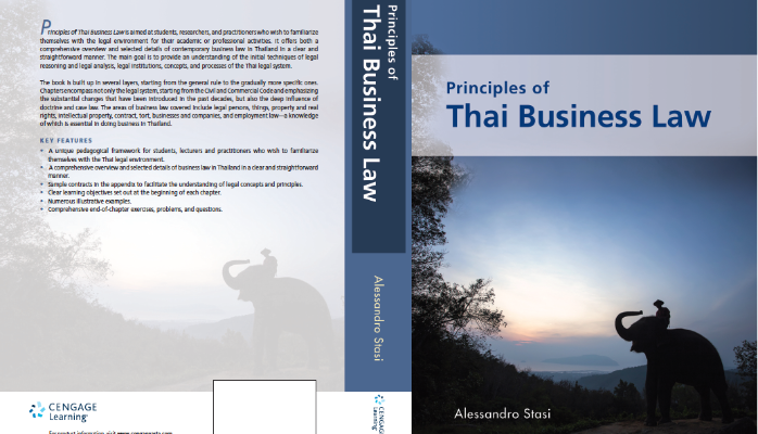Principles of Thai Business Law