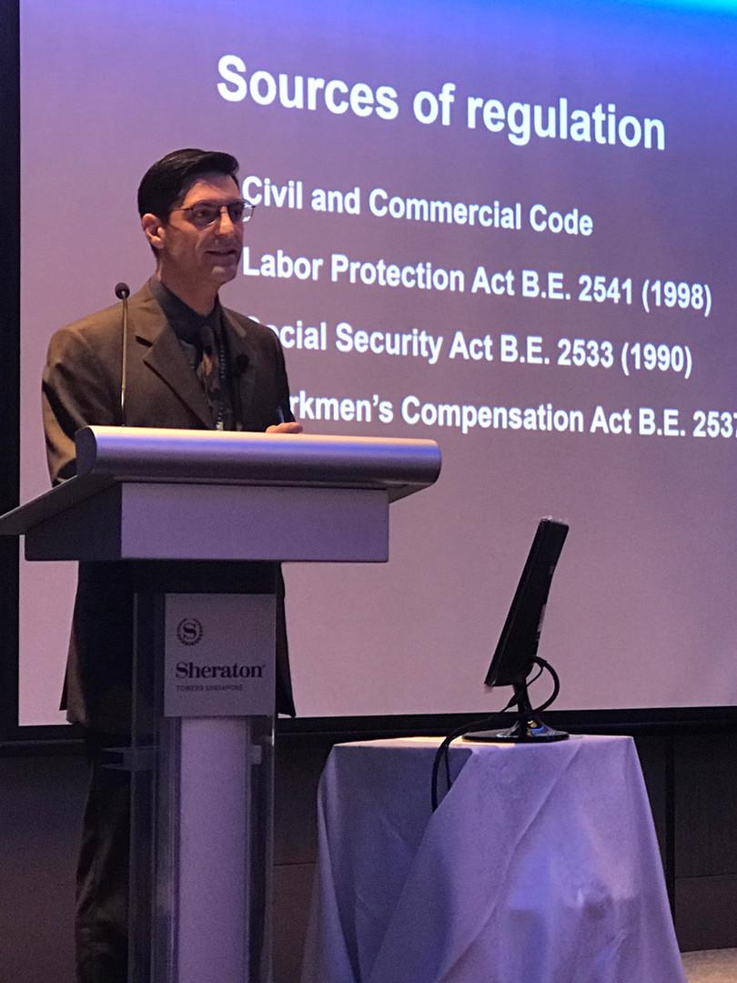 Singapore Employment Law Sheraton