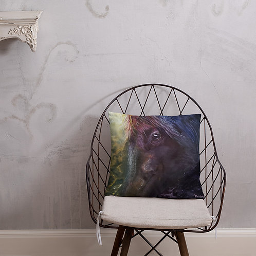 Throw Pillow: Horse Nebula
