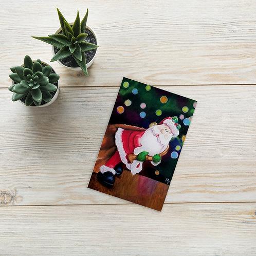 Standard Postcard: Santa Delivery
