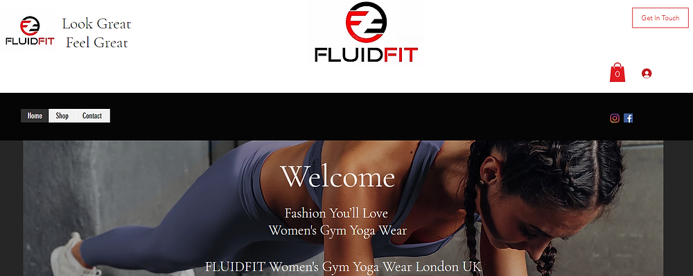 Women's Gym Yoga Wear London UK   Fluidfit