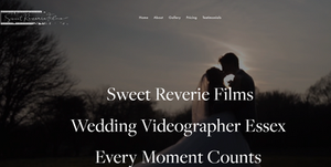 Sweet Reverie Films. An Essex based Wedding Videographer Film Maker, with an aim  to create wedding films that couples will cherish forever Across Essex. Kent, Hertfordshire & Surrey UK