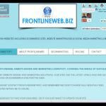 www.frontlineweb.biz #website #design #seo #Suffolk