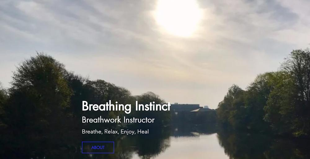 Breathing Instinct | Online Breathwork Breathing Classes Ireland Certified Wim Hof Method Instructor. Breathe, Relax, Enjoy, Heal