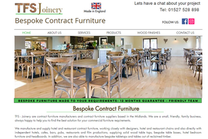 TFS - Joinery Are Contract Furniture Manufacturers & Contract Furniture Suppliers To Hotels, Cafes Restaurants, Bars, Pubs & Film Production Company's