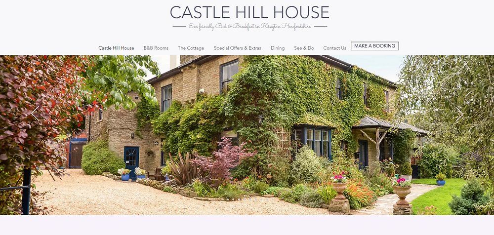 Castle Hill House Bed and Breakfast Kington Herefordshire