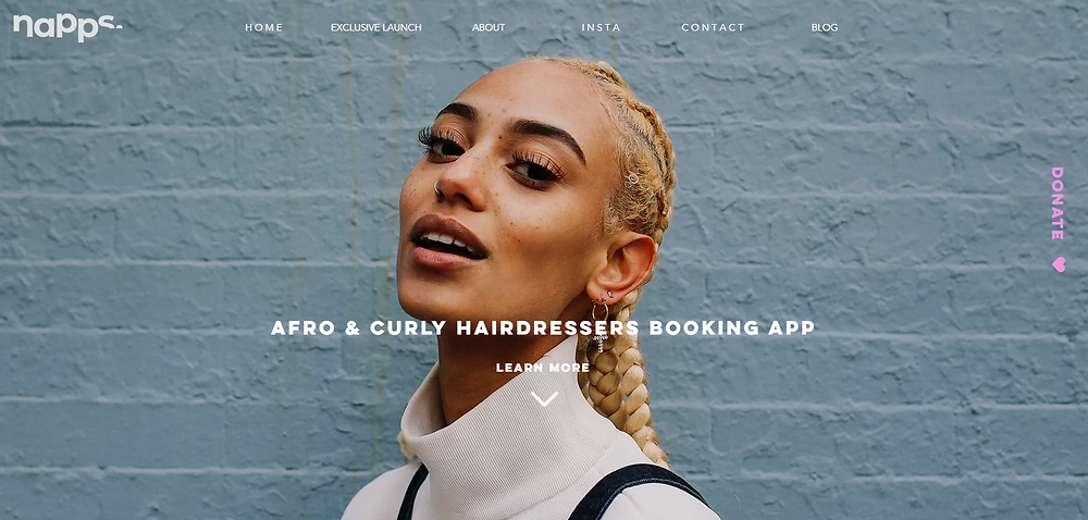 Napps is an Afro & Curly Hairdressers Booking App, where you can find and book afro and curly hairdressers near you. Join our waiting list to get your hairdo booked