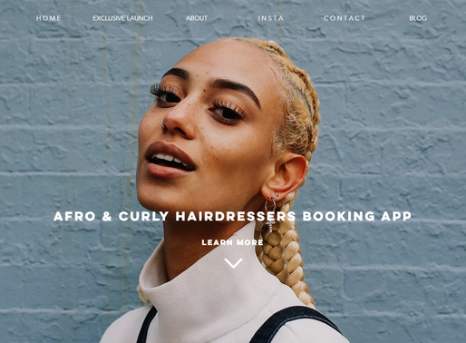 Napps Afro & Curly Hairdressers Booking App