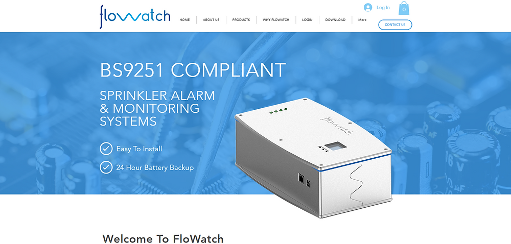 FlowWatch Fire Sprinkler Monitoring & Alarm Systems To BS9251