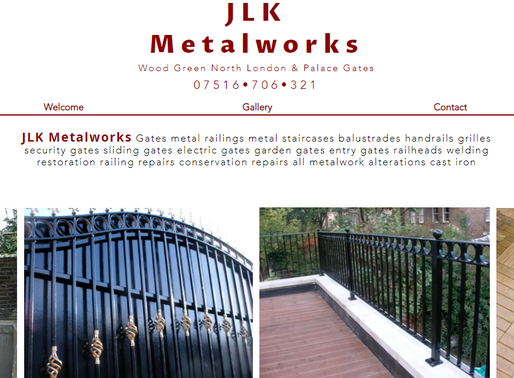 JLK Metalworks Wood Green North London & Palace Gates