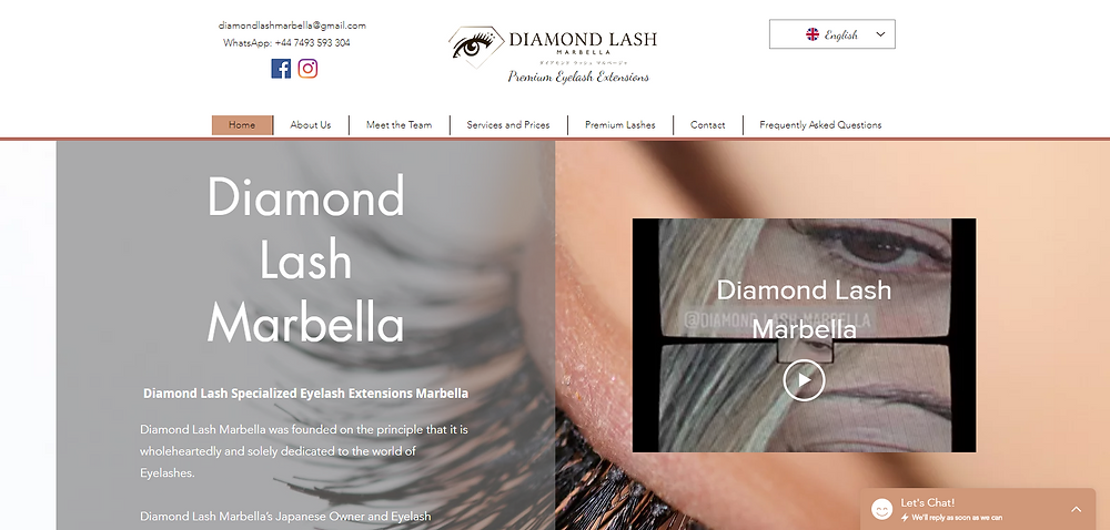 """Premium Eyelash Extensions Marbella By Japanese Technician With 10 years London and Tokyo Experience All products are """"Made In Japan"""""""