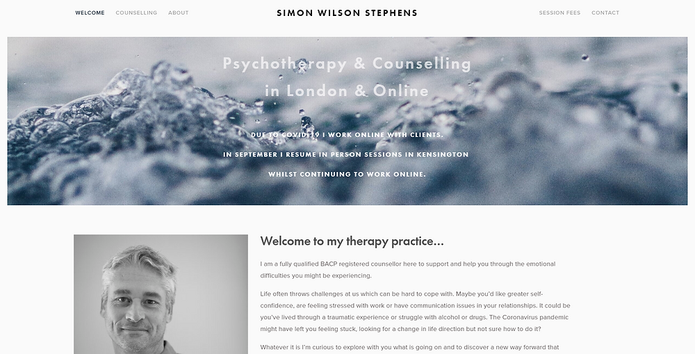 Online Psychotherapy & Counselling Kensington London