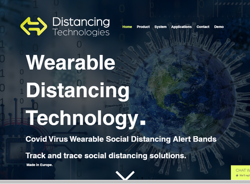 Wearable Social Distancing Alert Bands