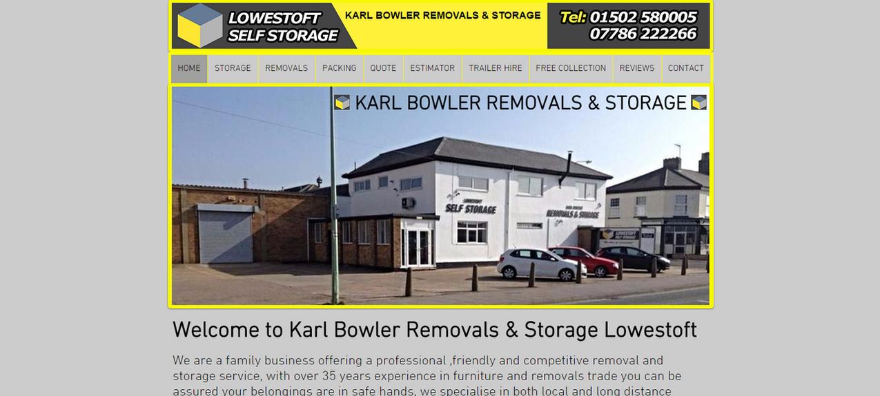 Karl Bowler Removals Storage Lowestoft Suffolk UK