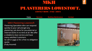 MKH PLASTERERS-PLASTERING & BUILDING SERVICES LOWESTOFT,BECCLES,GREAT YARMOUTH.