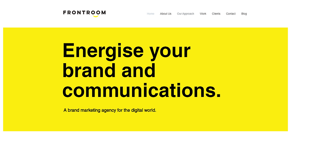 Frontroom | Is A Brand & Marketing Digital Design Agency Offering Brand Strategy, Brand Positioning, Brand Identity & Digital Campaigns Based In Birmingham UK
