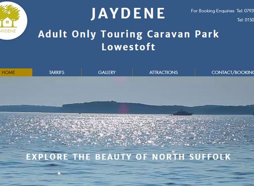 Jaydene Adult Only Touring Caravan Park Lowestoft Suffolk