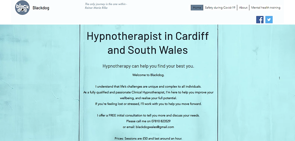 Hypnotherapist in Cardiff South Wales In-Person & Online. Hypnotherapy Can Help With Phobias, Anxiety, Depression, Panic Attacks, Addictions & Stop Smoking