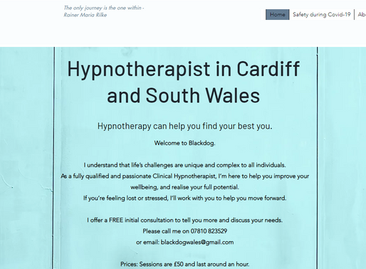 Hypnotherapist in Cardiff South Wales