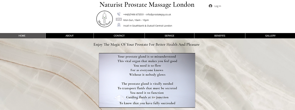 "Prostate Massage In London, From External To Internal Prostate Massage Or The Heavenly, Unforgettable Prostate ""Milking"". Quality Assuring & Safe"