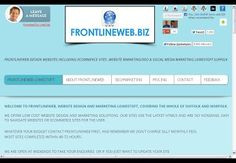 MICK ANDREWS - #Google+ www.frontlineweb.biz #website #builders #Suffolk