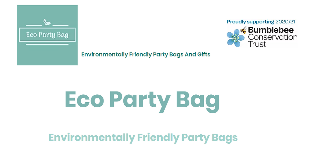 Eco Party Bag offer bespoke and pre-selected plastic-free Eco-Friendly children's party bags & gifts that won't cost the earth and all with the earth in mind