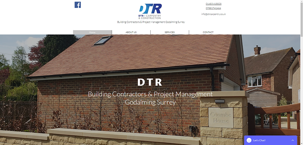 DTR Builders & Construction Godalming Are Specialist Builders In Residential & Commercial Extensions, New Builds, Refurbishments & Project Management.