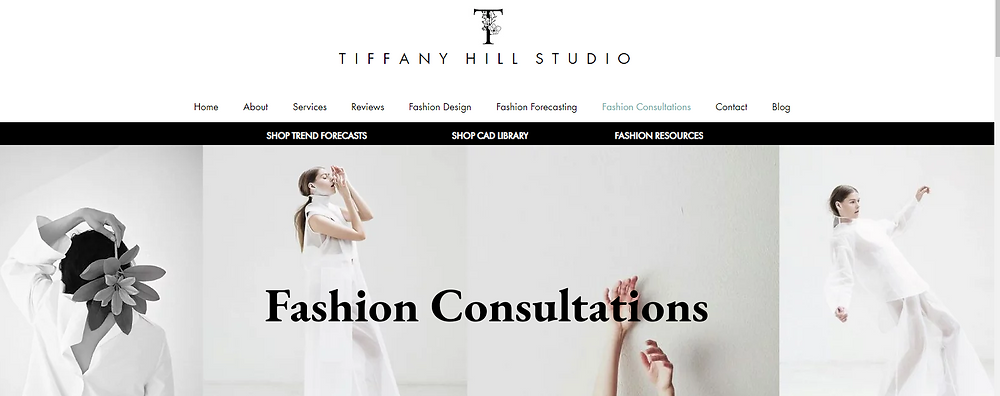 Tiffany Hill Studio Fashion Startup Mentor, Brand Coach Consultant with a fashion industry professional Book an online consultation for your start-up or brand