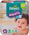 Pampers Active Fit Size 4 (Maxi) Monthly Pack--168 Nappies