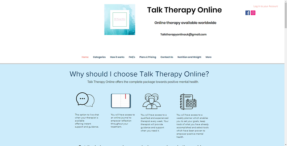 Talk Online with Qualified CBT Trained Online Therapists, Counselling That Can Help You With Anxiety, Depression, OCD, Panic Attacks, PTSD, Insomnia, Bereavement