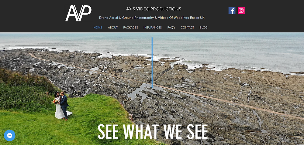 Axis Video Productions | Offers Stunning Drone Ground & Aerial Photography & Videos Of Weddings, Landscapes & Real Estate In Essex UK