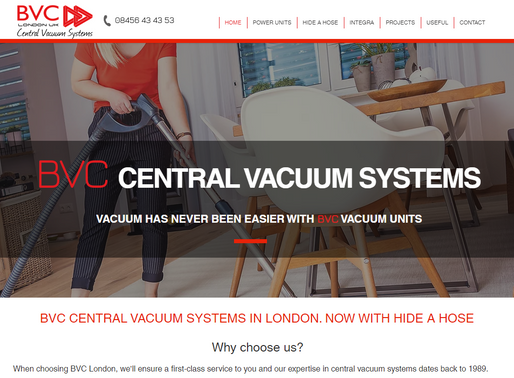 BVC  Central Vacuum Systems London