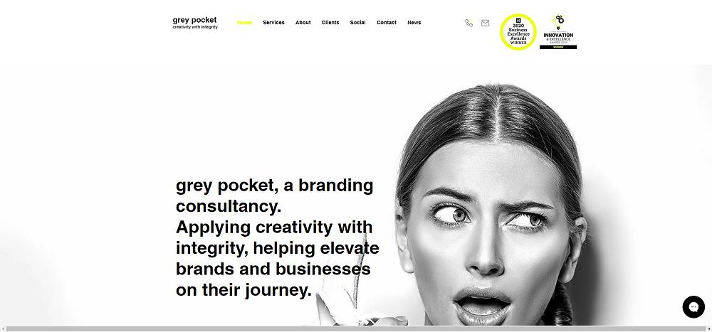 Grey Pocket Creative Branding Consultancy Edinburgh London