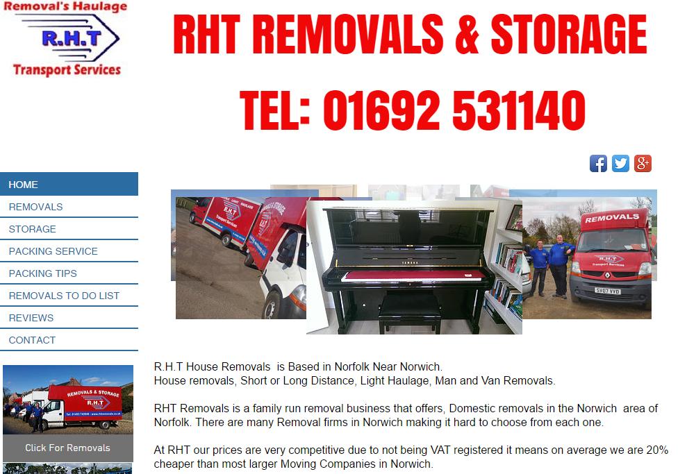 Removals Man and Van Norwich Yarmouth Gorleston wroxham lowestoft