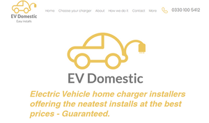 Electric Vehicle home charger installers suppliers London