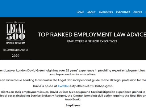 Employment Lawyer London UK