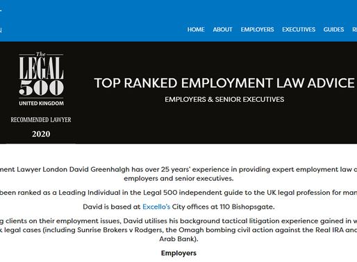 Employment Lawyer London UK